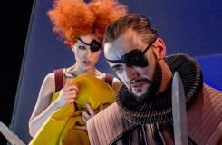 G. Verdi: Rigoletto - Dana Šťastná (Maddalena), David Szendiuch (Sparafucile) - Moravské divadlo Olomouc 2016 (foto Jan Procházka)