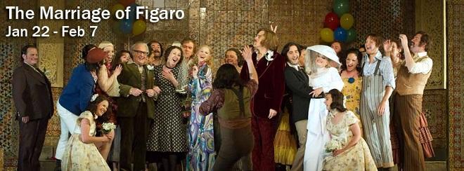 1W.A,Mozart: Le nozze di Figaro - Houston Grand Opera - vizuál