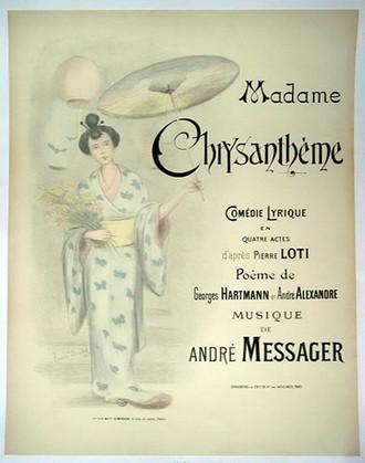 André Messager: Madame Chrysanthème (foto Nancy Steinbock Vintage)