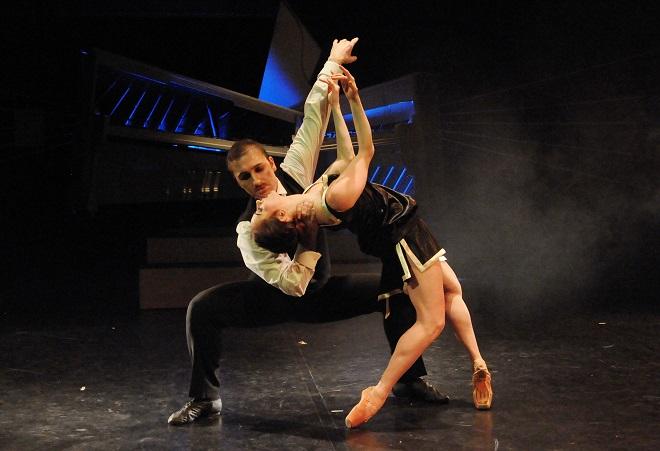 Stravinskij: Svěcení jara - Martin Šinták (Stravinskij), Jarmila Dycková (Múza) - DJKT 2016 (foto Pavel Křivánek)
