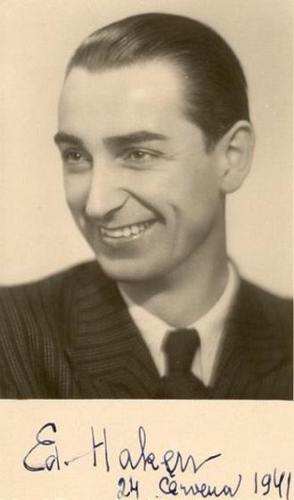 Eduard Haken (1941)(foto archiv)
