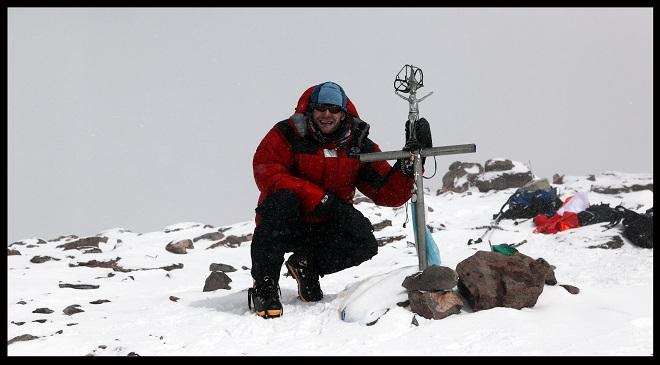 vrchol Aconcaguy - leden 2013 (foto archiv Viléma Veverky)