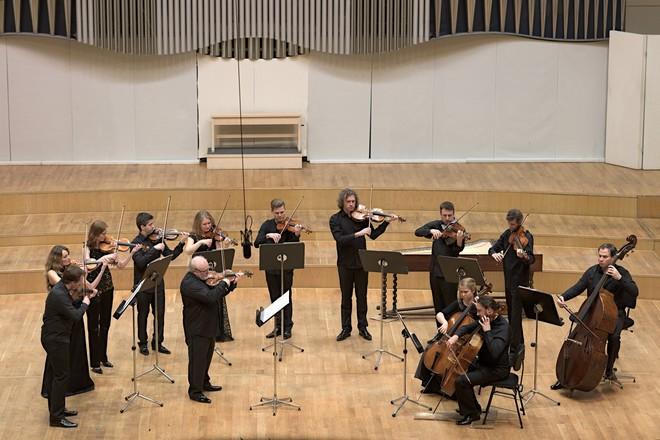 Hommâge à Bohdan Warchal - Slovenský komorný orchester Bohdana Warchala - Koncertná sieň Slovenskej filharmónie (foto Jan Lukas)