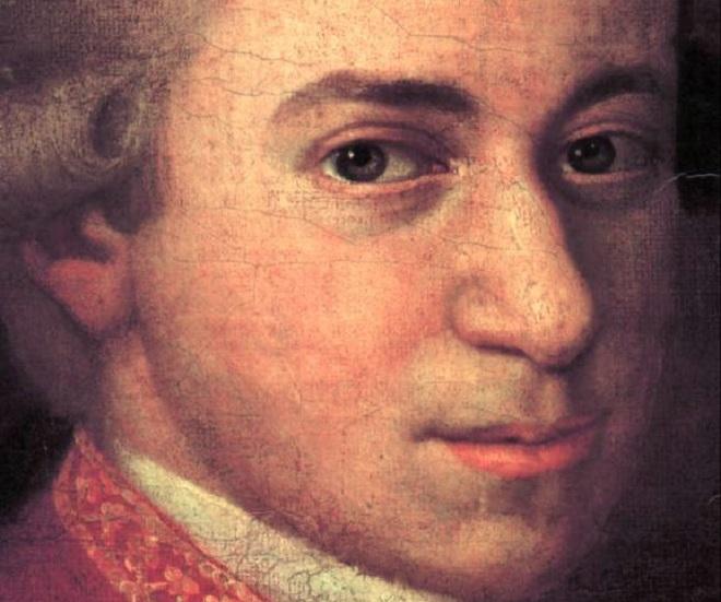 Wolfgang Amadeus Mozart (Johann Nepomuk della Croce, kolem roku 1780)