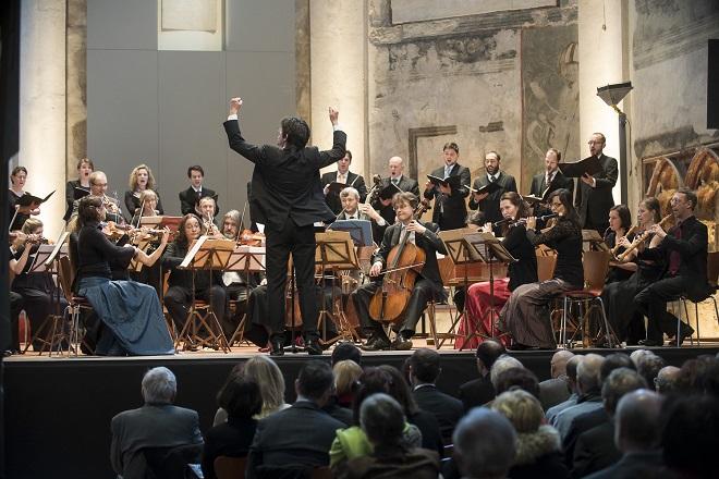Bachovy světské kantáty - Collegium 1704 & Collegium Vocale 1704, Václav Luks - Praha 2015 (© Collegium 1704 -- Petra Hajská)