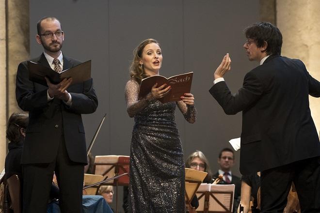 Bachovy světské kantáty - Natalia Rubiś–Krzeszowiak, Jaromír Nosek, Václav Luks - Praha 2015 (© Collegium 1704 -- Petra Hajská)
