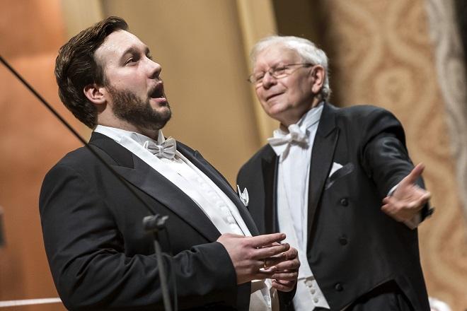 Česká filharmonie - Koncert ke 120. výročí - Jan Martiník, Jiří Běhlohlávek (foto ČF)