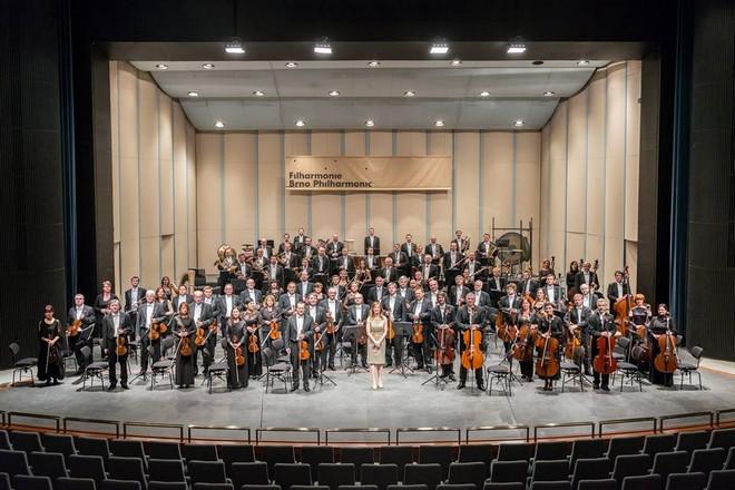 Filharmonie Brno v roce 2015 (FB Filharmonie Brno)