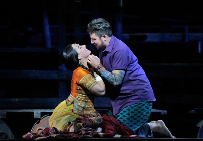 Georges Bizet: Lovci Perel - Metropolitní opera (foto Met)