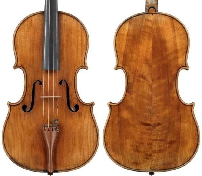 Stradivariho viola z roku 1672 (foto Jan Roehrmann)