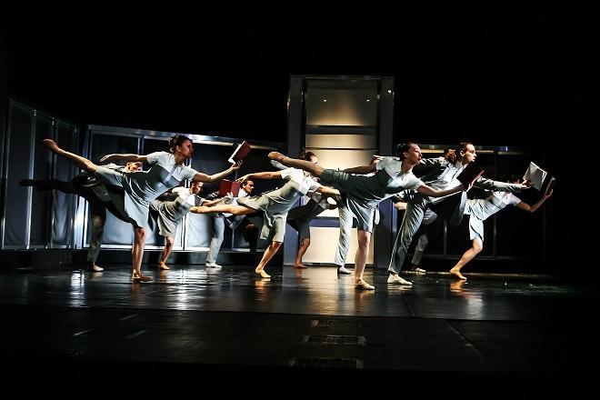 Egerházi: Kauza Kafka - Soubor baletu Jihočeského divadla - JD 2016 (foto Michal Siroň)