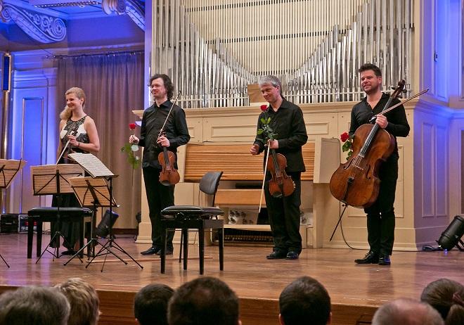 Galakoncert Concentus Moraviae - Pavel Haas Quartet (foto © Concentus Moraviae / Jiří Sláma)