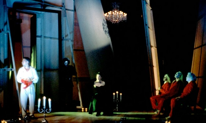 Philip Glass: Orpheé - American Repertory Theater 1993 (zdroj americanrepertorytheater.org)