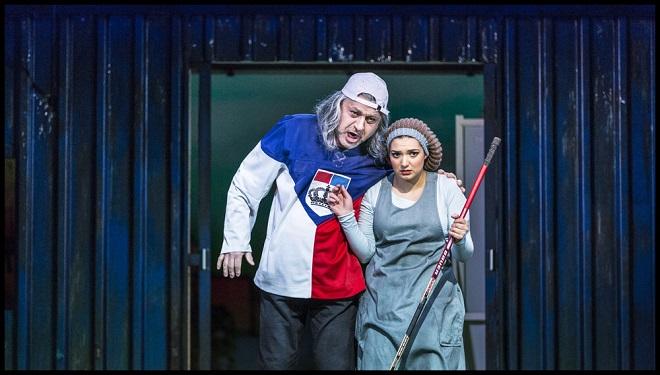 Gioacchino Rossini: Popelka - Jiří Sulženko (Don Magnifico), Lena Belkina (Angelina) - ND 2016 (foto Patrik Borecký)
