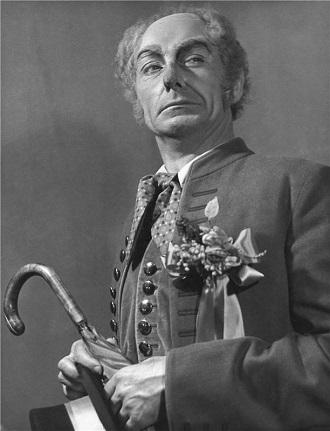 B.Smetana: Prodaná nevěsta - Eduard Haken (Kecal) - ND 1955 (foto archiv ND)