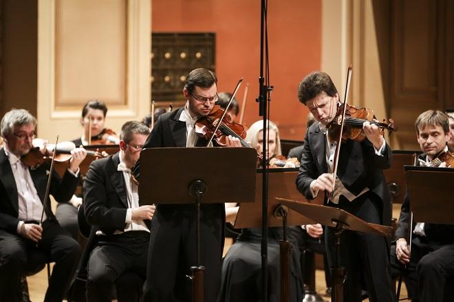 PKF-Prague Philharmonia - Jan Fišer, Julian Rachlin - Praha 2016 (foto Morris Media / Milan Mošna)