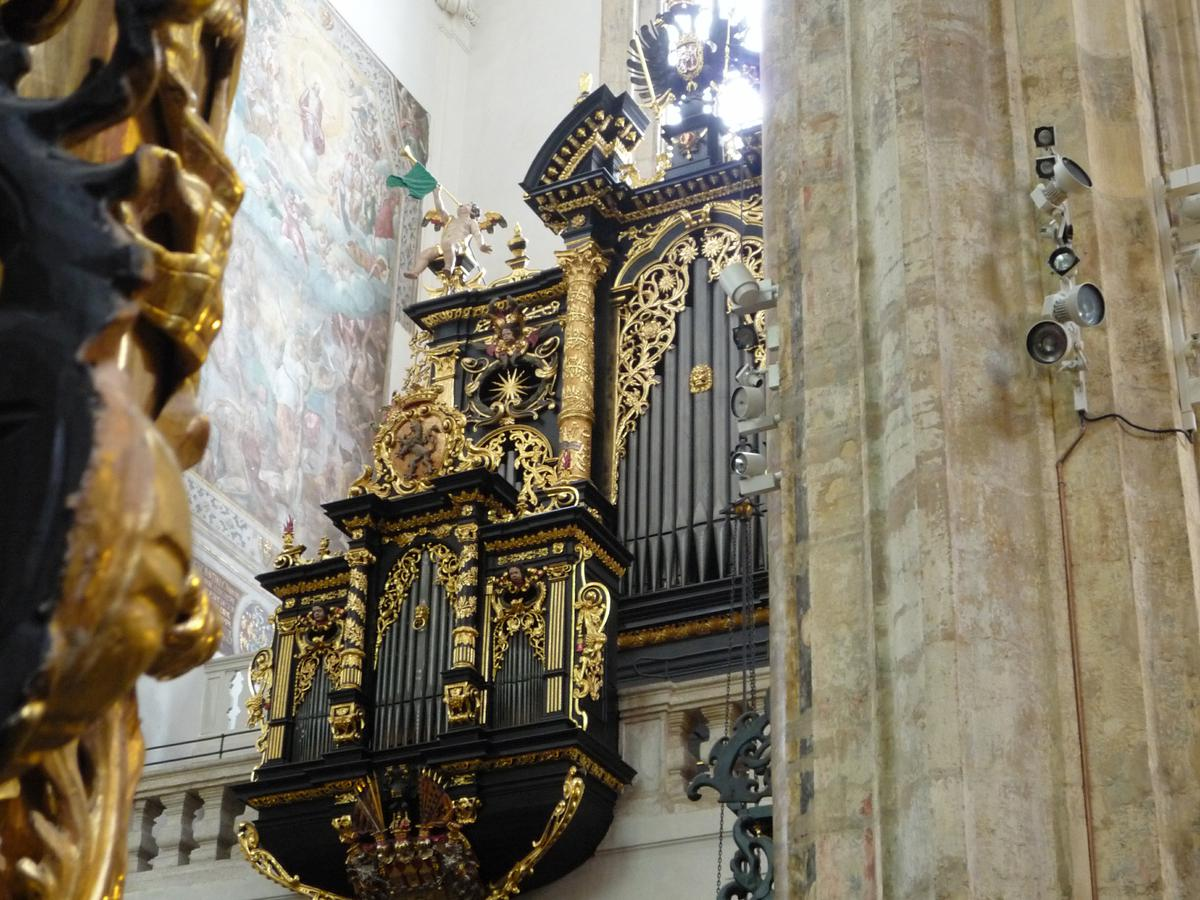 kostel Matky Boží před Týnem - varhany (foto archiv)