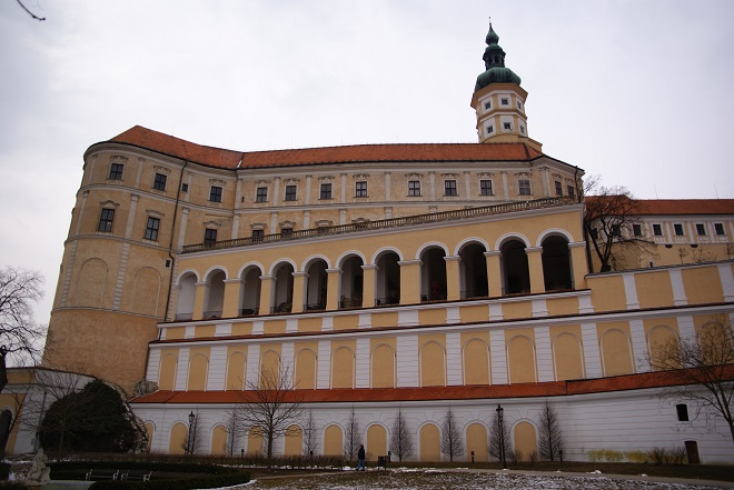 Zámek Mikulov (foto archiv)