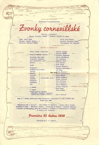 Program - Zvonky cornevillské (foto archiv JD)