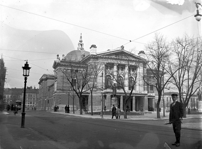National Theatret Oslo (foto archiv)