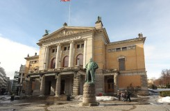 National Theatret Oslo (foto Pavel Horník)