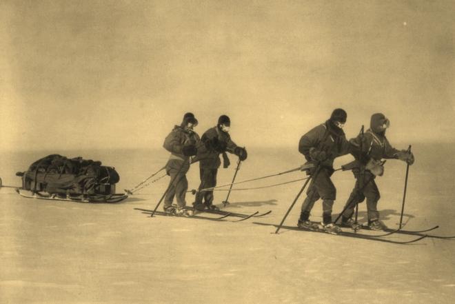 Scottova výprava na jižní pól (foto archiv)