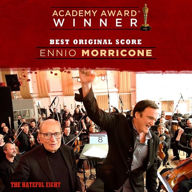 Ennio Morricone - Oscar za hudbu k filmu The Hateful Eight