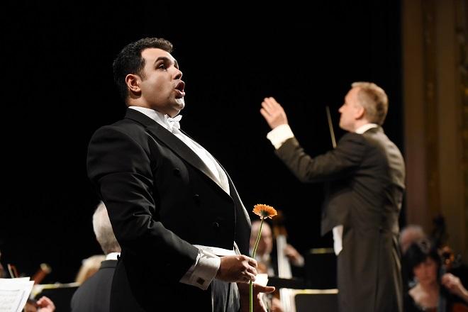 Koncert Operního studia University Britské Kolumbie - Alireza Mojibian, Norbert Baxa (foto Pavel Křivánek)