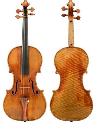 "Stradivariho housle z roku 1727 ""ex-Dupont/Grumiaux"" (foto archiv autora)"