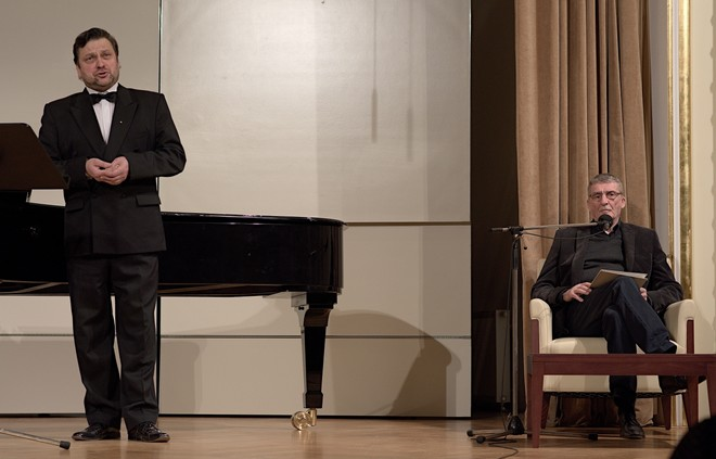 Franz Schubert: Zimní cesta - Gabriel Beňáček, Martin Huba - Reduta Bratislava (foto Jan Lukas)