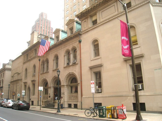 Curtis Institute of Music Philadelphia (foto archiv)