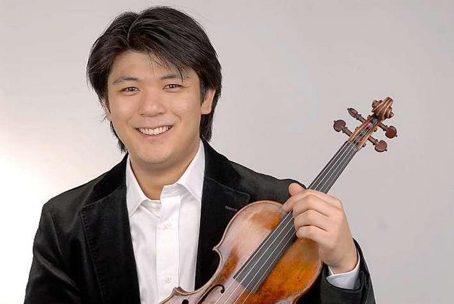 Daishin Kashimoto (foto Matthias Creutziger)