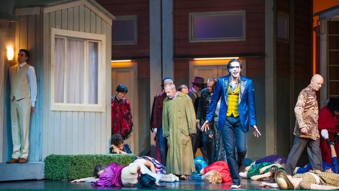 Wolfgang Amadeus Mozart: Don Giovanni - Raimundas Juzuitis, Simon Schnorr - Landesthetaer Salzburg 2016 (foto © Anna-Maria Löffelberger/Landesthetaer Salzburg)