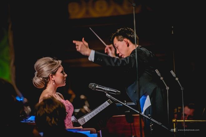 Michael Giacchino in Concert - Christina Johnston, Chuhei Iwasaki (foto Matěj Třasák)