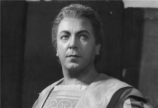Ch. Gounod: Faust a Markétka - Beno Blachut (Faust) - ND 1955 (foto archiv ND)