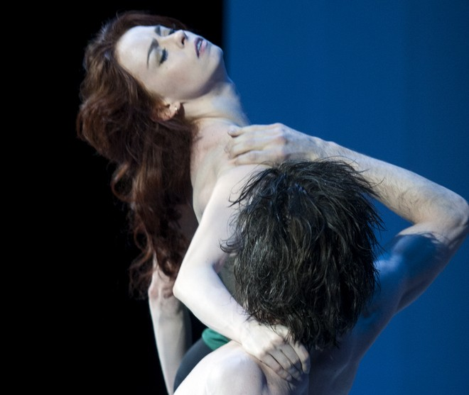 Skrotenie zlej ženy - choreografie Jean-Christophe Maillot - Ekaterina Krysanova a Vladislav Lantratov (foto E. Fetisova)