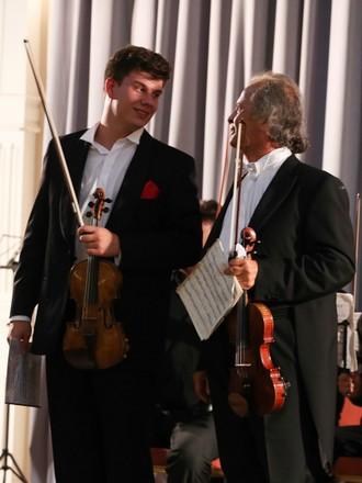 Jan Mráček a Václav Hudeček (foto David Peltán)