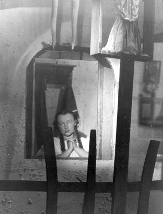 L.Janáček: Její pastorkyňa - Emilie Zachardová (Jenůfa) - ND Brno 1945 (foto E.Strych