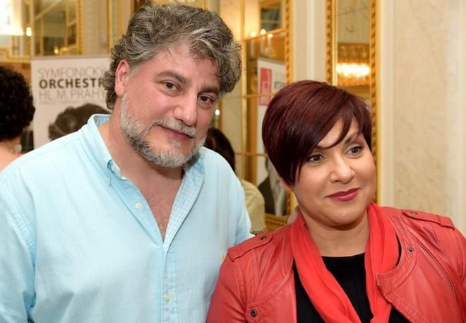 José Cura a Dagmar Pecková (zdroj fok.cz)