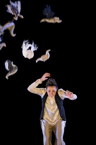 L.Vagnerová: Dark Horse - Fanny Barrouquère (foto Bengt Wanselius)