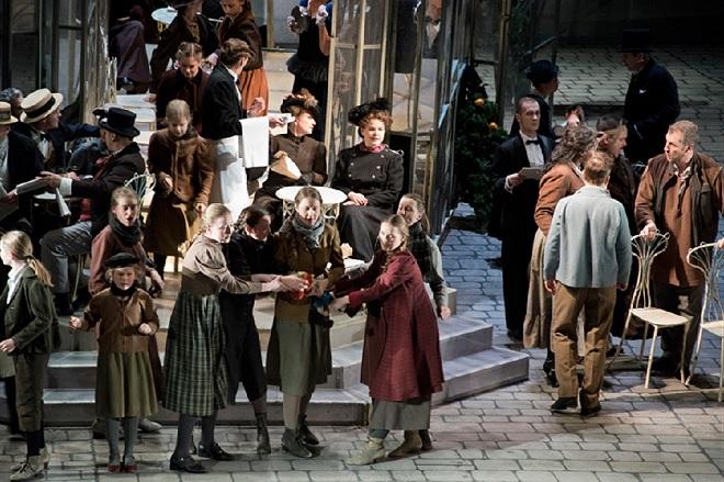 G.Puccini: La Bohème - Semperoper Drážďany 2015 (foto archiv)