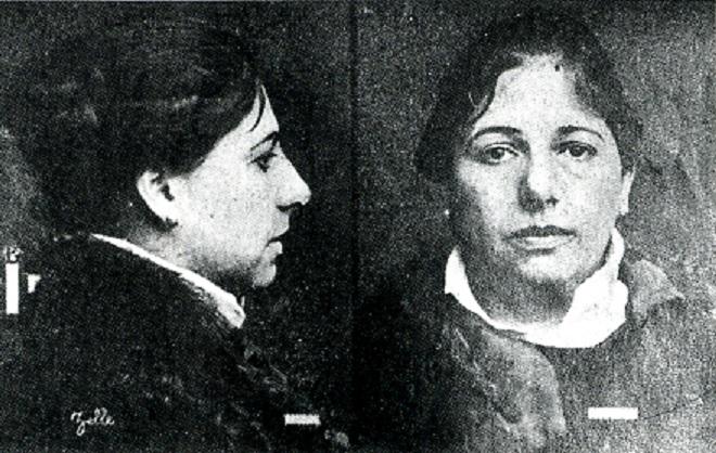 Marghareta Zeele - Mata Hari před popravou 15.října 1917