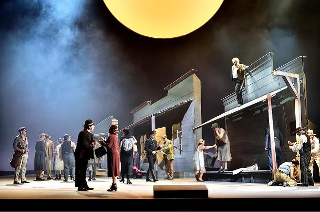 W.Bolcom: McTeague-Gier nach Gold - Landestheater Linz 2016 (foto © Patrick Pfeiffer)