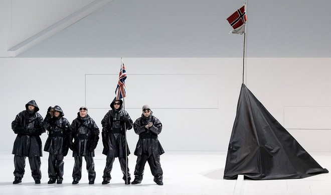 Miroslav Srnka: South Pole – Bayerische Staatsoper Mnichov (foto Sven Hoppe/dpa)
