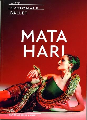 Plakát k premiéře baletu o Mata Hari