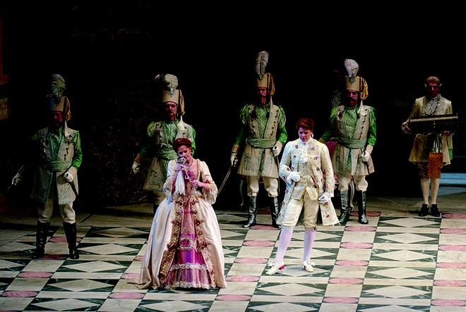 Richard Strauss: Der Rosenkavalier - Lyric Opera of Chicago 2016 (foto Lyric Opera of Chicago)