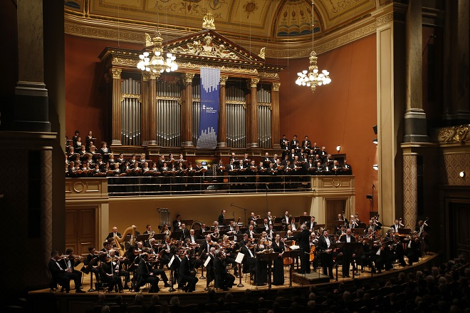 Symfonický orchestr Českého rozhlasu - Pražský filharmonický sbor (foto Petr Horník)