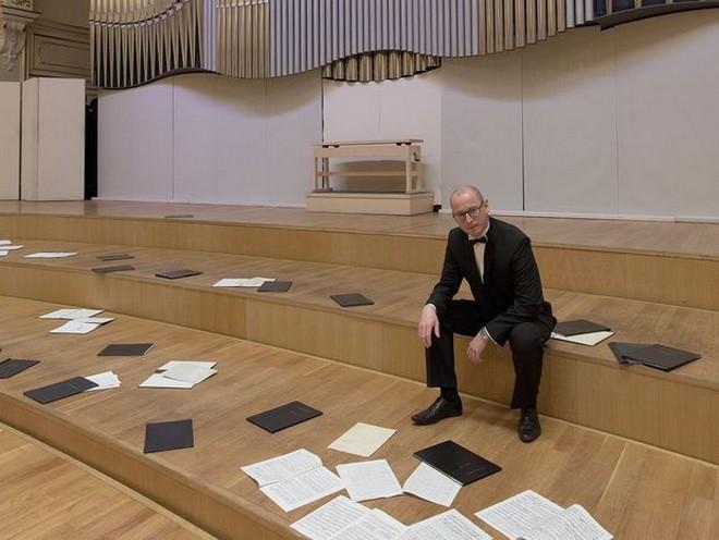 Sbormistr Slovenského filharmonického zboru Jozef Chabroň (foto Ján Lukáš)
