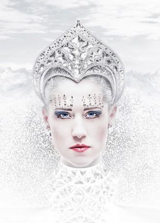 Sněhová královna - ND Praha (vizuál) (foto Pavel Hejný)
