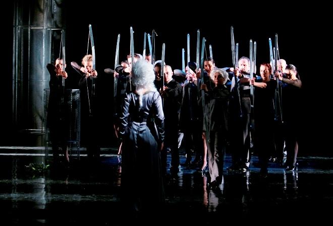 G.F.Händel: Alcina - Zbor Opery Štátneho divadla Košice - ŠD Košice 2016 (foto Joseph Marčinský)